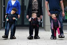 Upsee harness: Mother's invention to give disabled son chance to walk will help countless other families following worldwide launch - Home N...