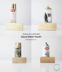 Best Gold Spray Paint On Bedside Lamp And Gold Spray Paint