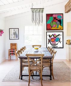 Mêler peinture contemporaine et décoration, la nouvelle tendance - PLANETE DECO a homes world