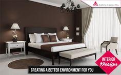 Interior Design - Creating a better Environment for you. For more http://www.academyofappliedarts.com/interior-design/
