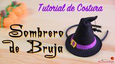 Tutorial de Costura - Sombrero de Bruja - Especial Halloween