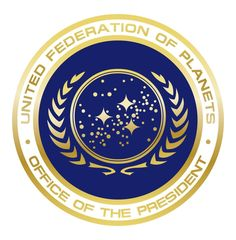 United Federation of Planets Office of the President Seal