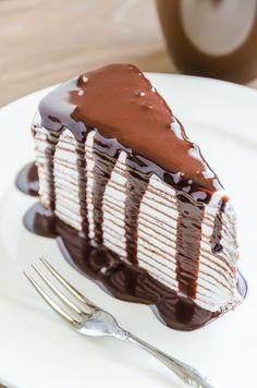 Esta receta es de un dlicioso pastel de crepa de nutella para que disfrutes con toda tu familia. Son perfectas para festejar el cumpleaños de tus pequeños. Acompañalas de un buen cafe o un capuchino e incluso si quieres agrega fresas o platano.
