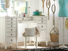 I love the PBteen Chic Script Vanity on pbteen.com