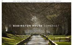 Babington House Webdesign