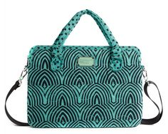 """Marc by Marc Jacobs Pretty Nylon Gamma Ray 15"""" Computer Commuter Case in Dusty Green Jade"""