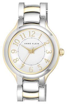 Anne+Klein+Round+Bracelet+Watch,+29mm+available+at+#Nordstrom
