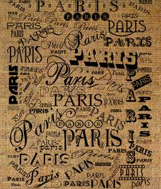 PARIS French France City Words Text Word Art Script by Graphique,