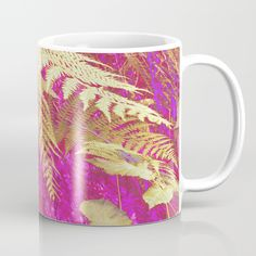 Golden Fern Coffee Mug