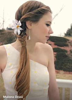Formal side braid