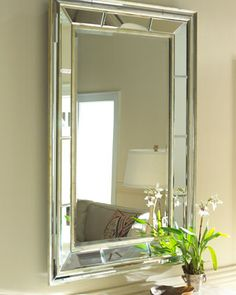Double+Bevel+Mirror+at+Horchow.Double Bevel Mirror $395.00