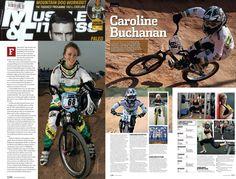Muscle and Fitness Magazine, Health, Sport, BMX Racing, Women In Sport, Action Sport Female, Extreme Sport, Mountain Bike Racing