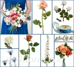 Beach Wedding Flowers ~ Bri's Inspiration Board