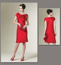 Vogue Patterns 1208 Misses' /Misses' Petite Dress