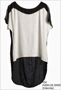 Resultado de imagen para blusas de chifon con cola de pato