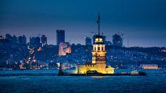 Kiz Kulesi :) - Bosforus ferry view...