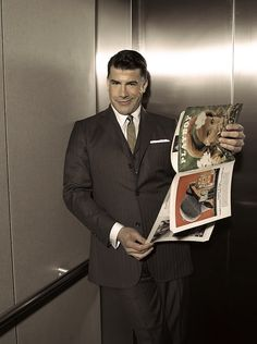 Go, Salvatore! - Mad Men Playboy shoot. One of my favorite characters from the show