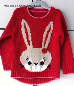 New Winter Cartoon Baby Girls Sweater Cl - Diy Crafts - Marecipe Baby Boy Knitting Patterns Free, Baby Sweater Knitting Pattern, Baby Dress Patterns, Knitting For Kids, Crochet Baby Sweaters, Baby Girl Sweaters, Baby Hoodie, Pull Bebe, Knitting Designs