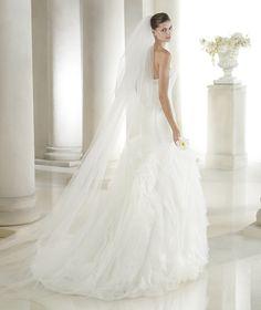 Style * SASHA * » Wedding Dresses » Dreams 2015 Collection » by San Patrick (back)