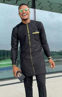 African Wear Styles For Men, African Shirts For Men, Ankara Styles For Men, African Dresses Men, African Attire For Men, African Clothing For Men, African Style, African Clothes, Nigerian Men Fashion