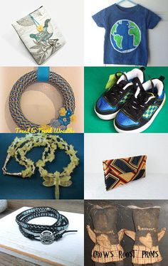 Icy Blues by Blue Suede Stitches on Etsy--Pinned with TreasuryPin.com