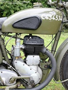 The side-valve single engine on the BSA M20 was simple and rugged, making it ideal in combat situations.