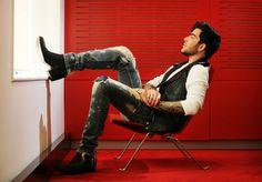 X Factor Australia, 19.10.2015 Adam Lambert at Nova studios in Pyrmont -Toby Zern