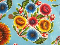 Bought this tablecloth for my dining room. Happy retro Mexican print!