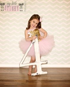 SIZE 9mo24mo Pink and gold tutu dress by MyLittleStinky on Etsy, $125.00