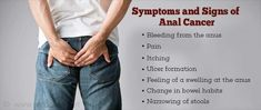What are symptoms of anal cancer — 8