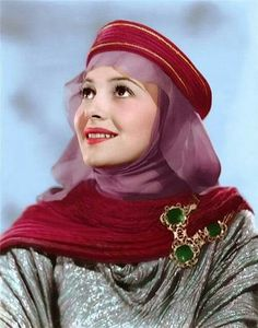 Image result for olivia de havilland as maid marian
