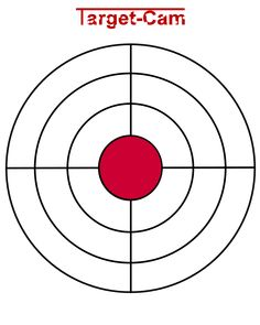 "Free Gun Targets to Print | New ""Target-Cam"" Rifle and Hand Gun Target Viewing System"