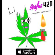 GEAFUS 420 Animated Weed Emoji for iMessage !!!!