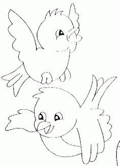 kuş boyama sayfası - Google'da Ara