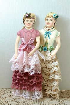 Paper Dolls & French Canisters