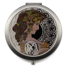 12 Zodiac Signs Compact Mirror - Design Glassware by Mont Bleu