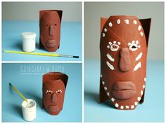 Select images to pin - Pin Them All Around The World Crafts For Kids, Africa Craft, African Art Projects, Culture Day, Diy And Crafts, Arts And Crafts, Toilet Paper Roll Crafts, Diy Recycle, Recycling