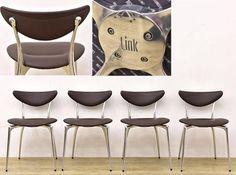 本日も特選家具のご紹介ですモダンコントラクト家具の名門ADAL社製蒲原潤斉デザインLINKチェア4脚セットです蒲原潤斉の代表作でもあるLINKシリーズアルミダイキャスト脚部の美しい造形がオブジェのような独特の存在感があるチェアです背もたれと座面にクッションが入っているので座り心地がよく絶妙なカーブは身体のラインに沿うようにフィットします定価1脚80460円4合計321840円 (税込 )のところ特価にて出品中です    #目黒通り #都島本通り #インテリア #rocca #六家道具商店 #izuya #interior #furniture #vintagefuniture #antiqfurniture #雑貨 #家具 #チェア #ダイニングチェア #蒲原潤斉 #adal #アダル