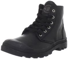 4d28c13f7e0 Palladium PAMPA HI LEATHER S~BLACK PILOT~M 02609-072-M
