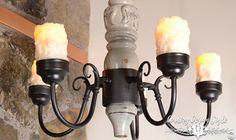 Spindle Chandelier | Country Design Style | countrydesignstyle.com
