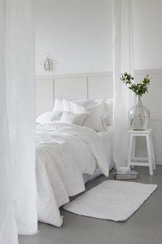everything white - fresh bedroom