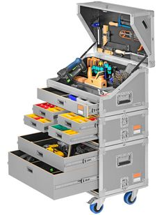 Mobilmarie Praxis v3 A Neat Approach to Modular Mobile Tool Storage