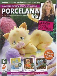 Cold Porcelain magazine 6 (2013) by Leticia Suarez del Cerro (Spanish)  RETIRED