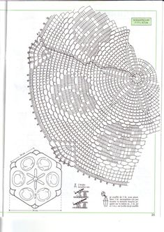 Decorative Crochet Magazines 40 – Barbara H. Crochet Angel Pattern, Crochet Doily Diagram, Crochet Flower Patterns, Doily Patterns, Filet Crochet, Crochet Motif, Crochet Doilies, Crochet Flowers, Crochet Lace