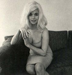 Janye Mansfield. Taken by Diane Arbus, American photographer and writer. (March 14, 1923 – July 26, 1971)