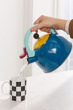 Shop Colorblocked Tea Kettle at Urban Outfitters today. We carry all the latest styles, colors and brands for you to choose from right here.