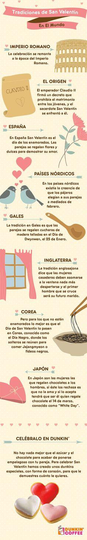 ¿Conoces cómo se celebra el Día de los Enamorados en otras partes del Mundo?  Hemos preparado una infografía sobre San Valentín donde puedes...