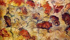 Trabajaremos la prehistoria gracias a las pinturas rupestres de Altamira.