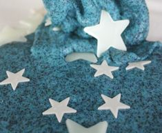 Space slime with glow in the dark stars from Little Bins for Little Hands