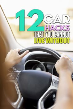 12 car organization hacks that will keep your car organized and free of clutter! Car Cleaning Hacks, Car Hacks, Car Magnets, Organization Hacks, Road Trip, Road Trips